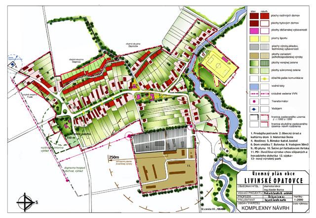 Územný plán obce Livínske Opatovce