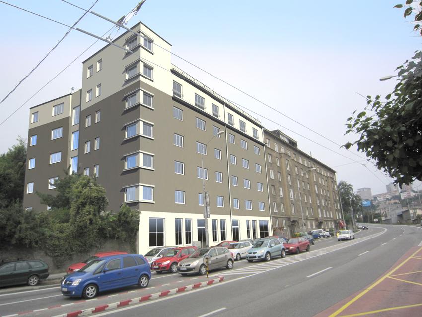 Bytový dom, Bratislava - Pražská ul., Nadstavba