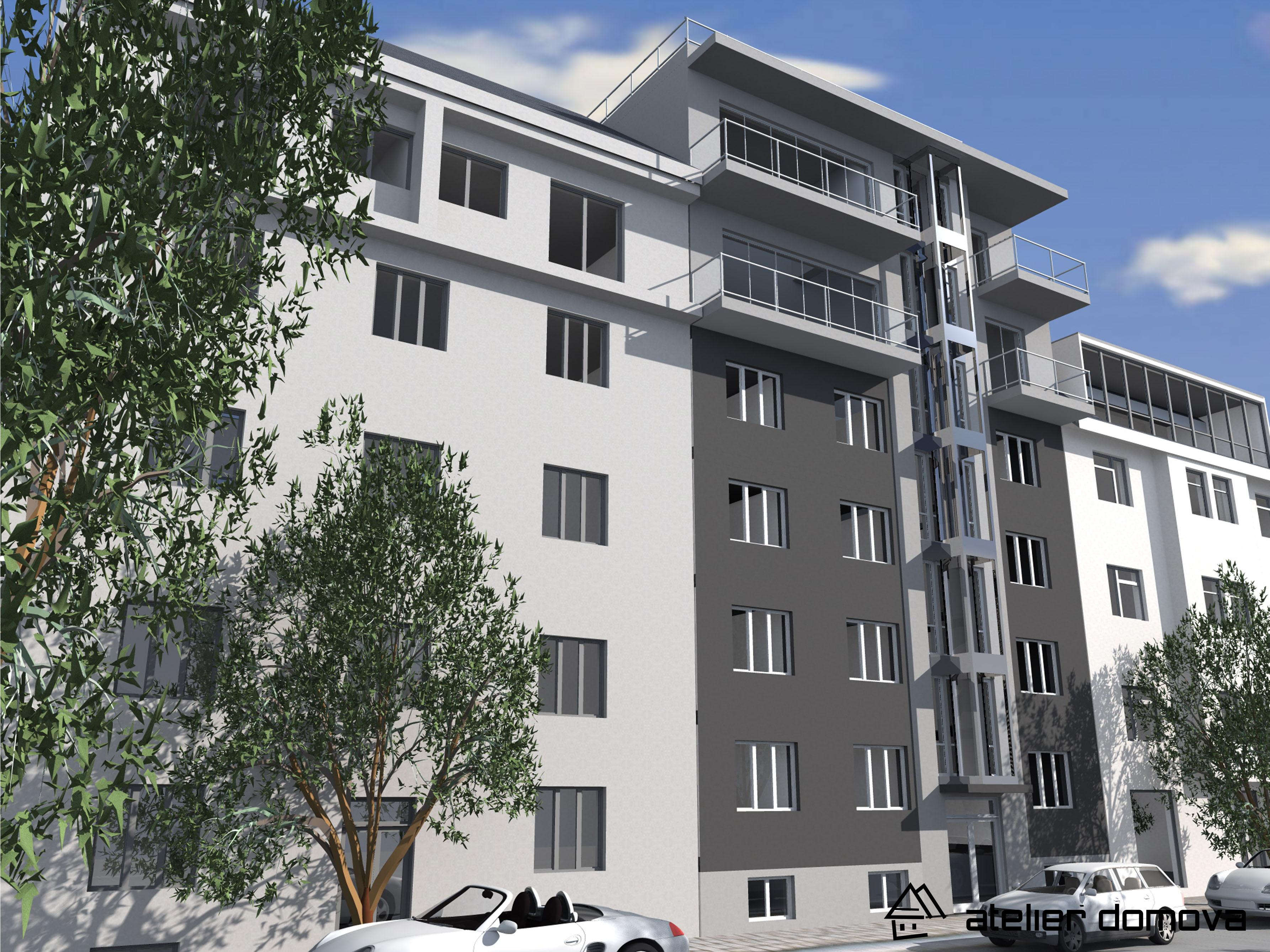Bytový dom - nadstavba - Bratislava, Miletičová ul
