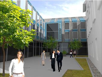 Administratívna budova - Modré Átrium II